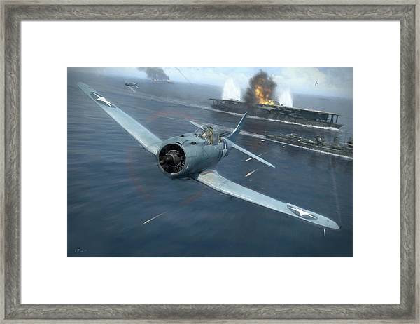 Against The Odds - Painterly Framed Print by Robert Perry