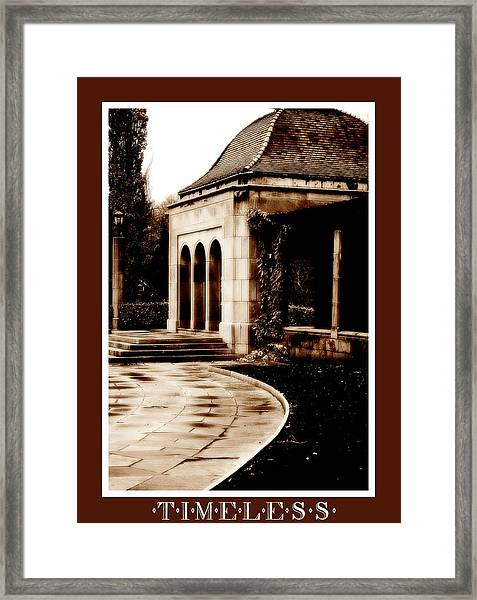 Aged By Time Framed Print