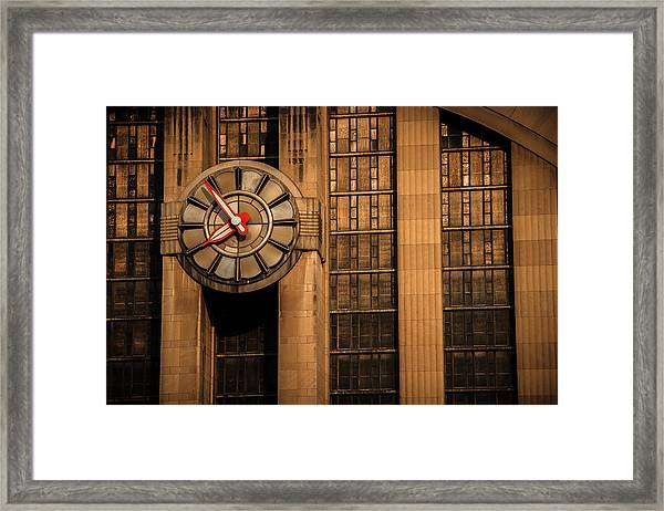 Aged In Time Framed Print