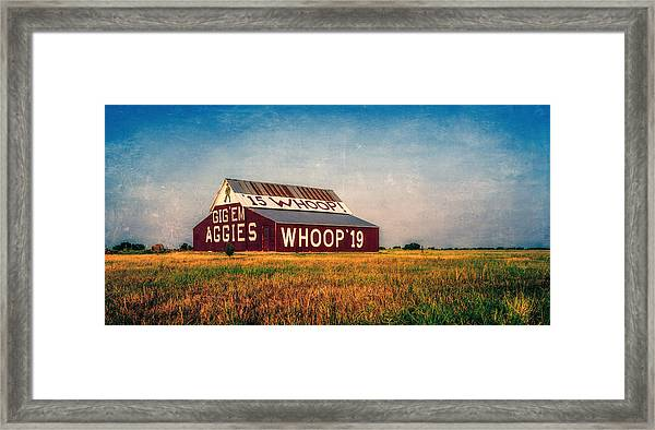 Aggie Barn 2015 Framed Print