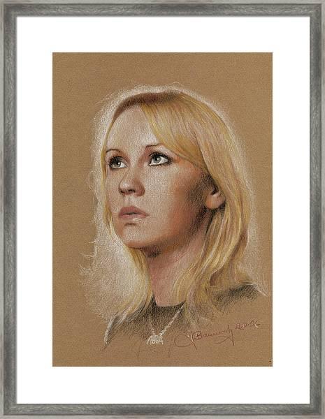 Agnetha Framed Print