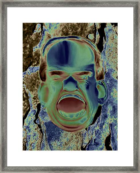 Agony And Misery Framed Print