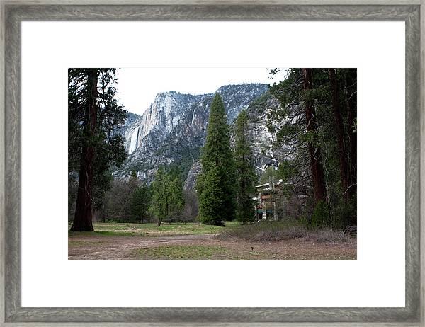 Framed Print featuring the photograph Ahwahnee Setting by Lorraine Devon Wilke