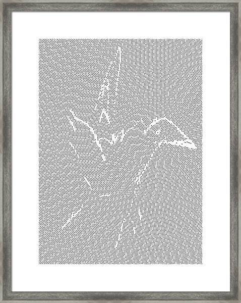 Framed Print featuring the digital art Aibird by Robert Thalmeier
