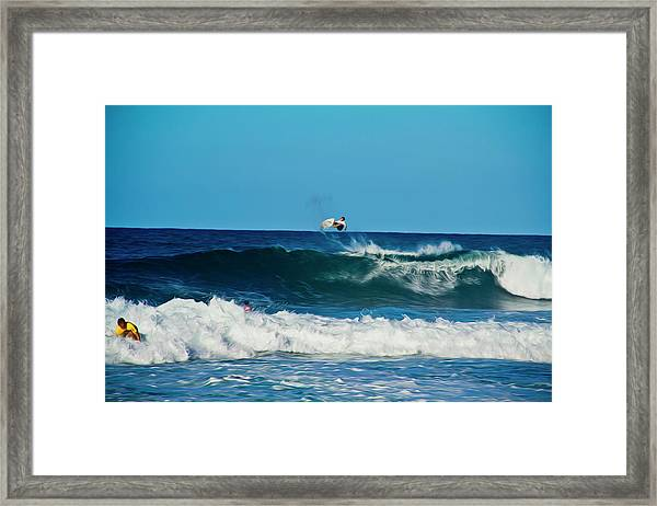Air Bourne Framed Print