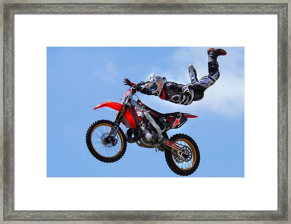Air Time Framed Print
