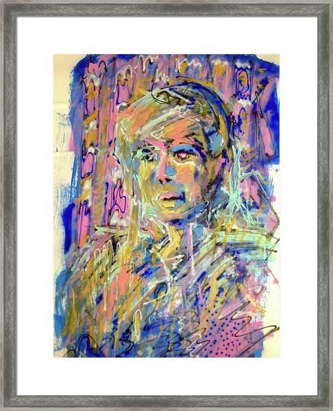 Airbrush 2 Framed Print