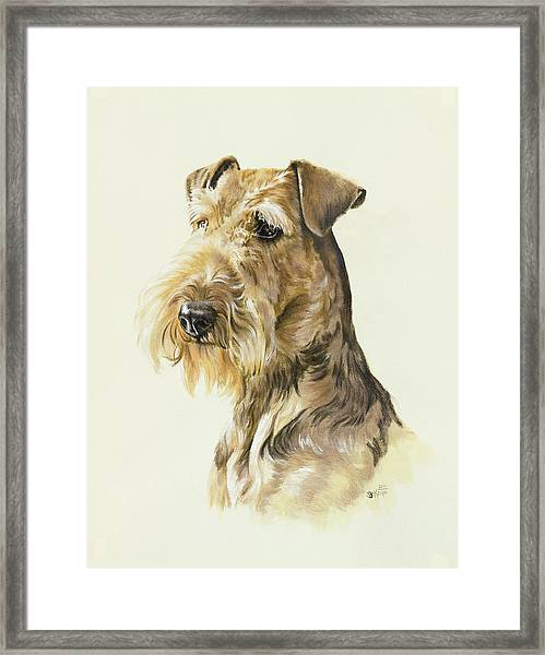 Airedale Framed Print