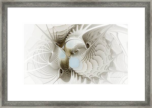 Airy Space2 Framed Print