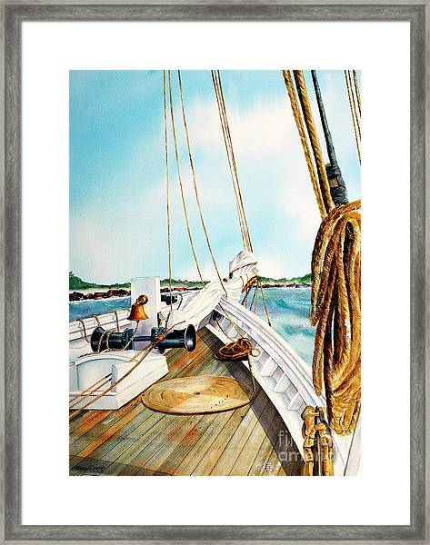 A.j. Meerwald-coming Home Framed Print
