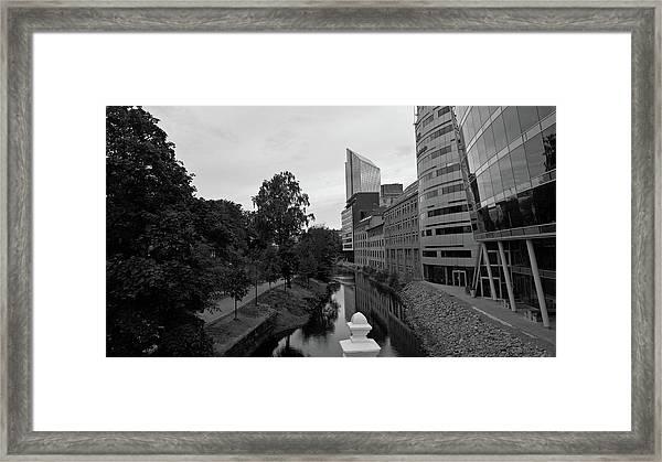 Akerselva Framed Print