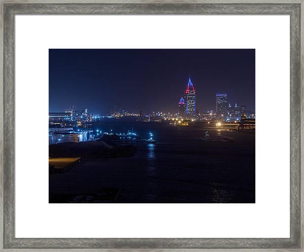 Alabama's Port City Framed Print
