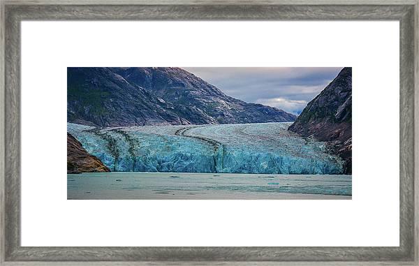 Alaska Glacier Framed Print