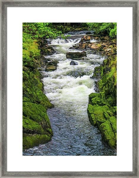 Alaskan Creek Framed Print