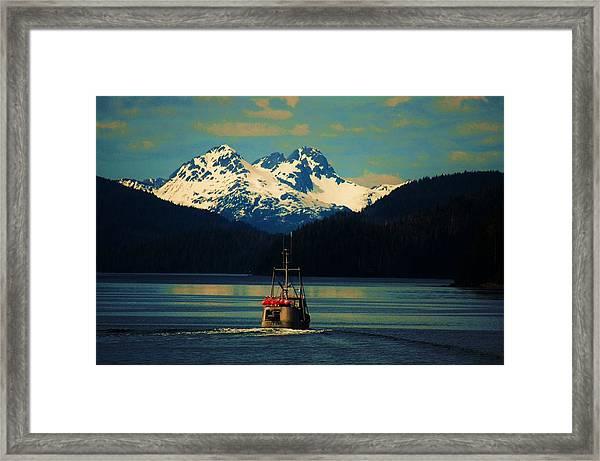 Alaskan Cruise Framed Print
