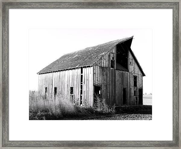 Albert City Barn 3 Framed Print