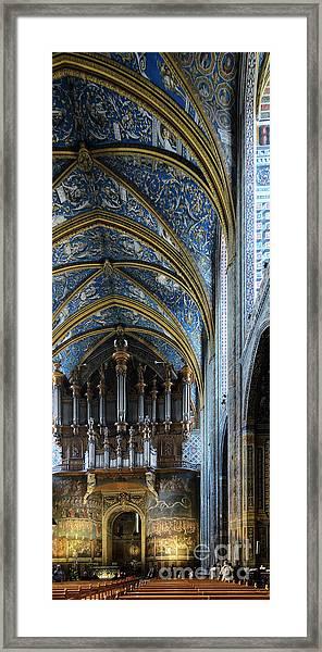 Albi Cathedral Nave Framed Print