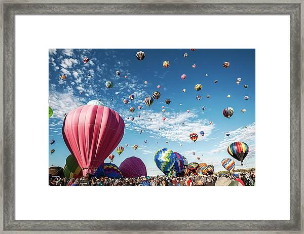 Albuquerque Balloon Fiesta Framed Print