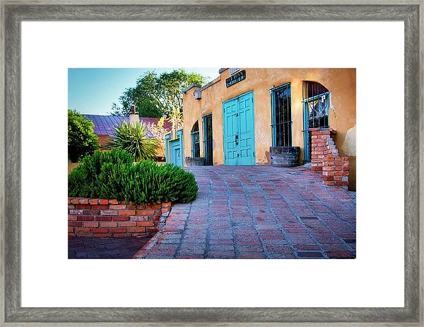 Albuquerque Old Town Emporium Framed Print