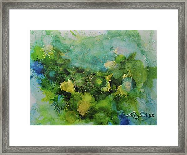 Alcohol Ink 1 Framed Print