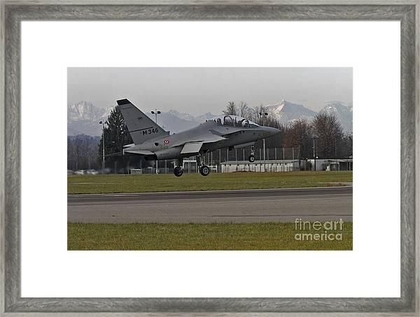 Alenia Aermacchi M-346 Master - Csx 55152 Framed Print