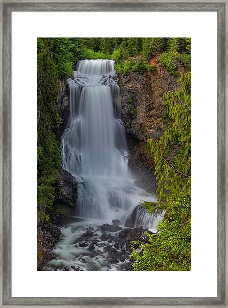 Alexander Falls Framed Print