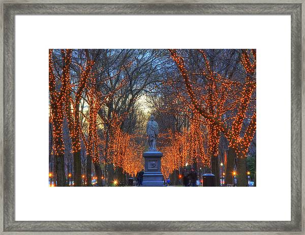 Alexander Hamilton On The Commonwealth Framed Print