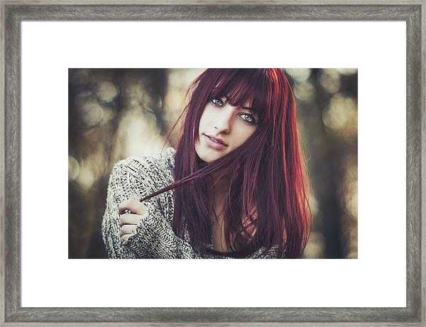 Alexandra Framed Print