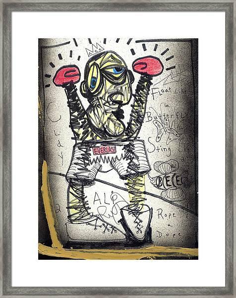 Ali Framed Print