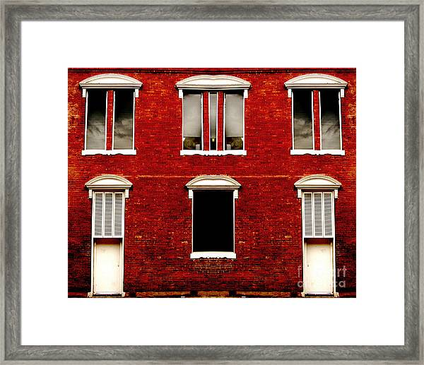 Alice To The Office Please Framed Print