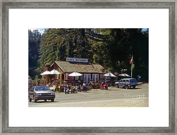Alices Restaurant Framed Print
