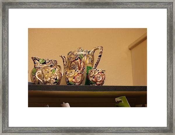 Alice's Tea Party Framed Print