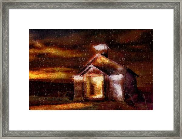 Alien Home Framed Print