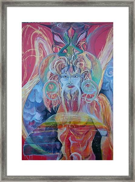 Alien Self  Framed Print