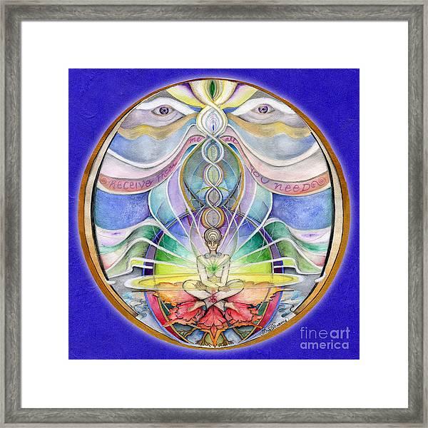 Alignment Mandala Framed Print