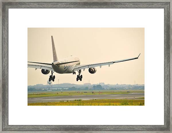 Alitalia Skyteam A330-200 Framed Print