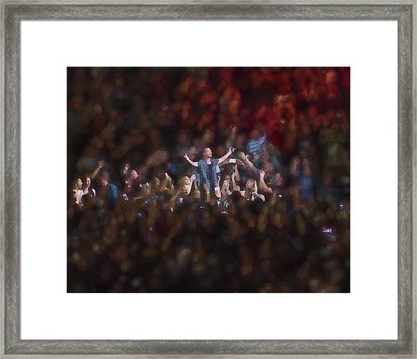 All Hail Eddie Vedder Framed Print