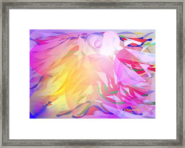 All I Need Is An Angel Framed Print