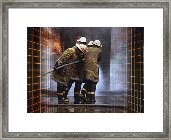 All In A Days Work Framed Print by Donna Proctor
