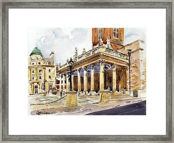 All Saints Church Northampton Framed Print