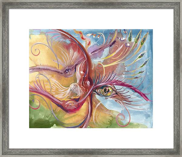 All Seeing Framed Print