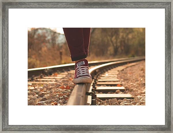 All Star Train Framed Print by Nikos Stavrakas