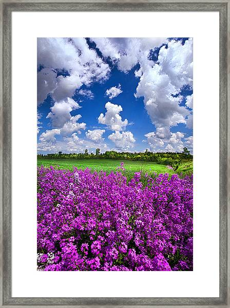 All That Love Requires Framed Print