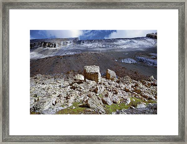 All Things Rock Framed Print