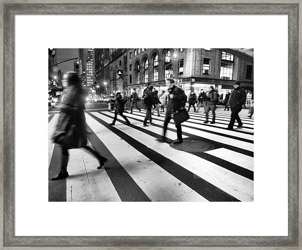 All Work No Play  Framed Print