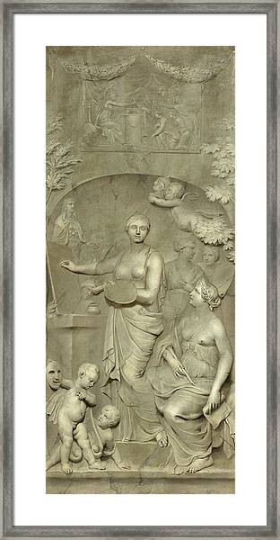 Allegory Of The Arts Framed Print