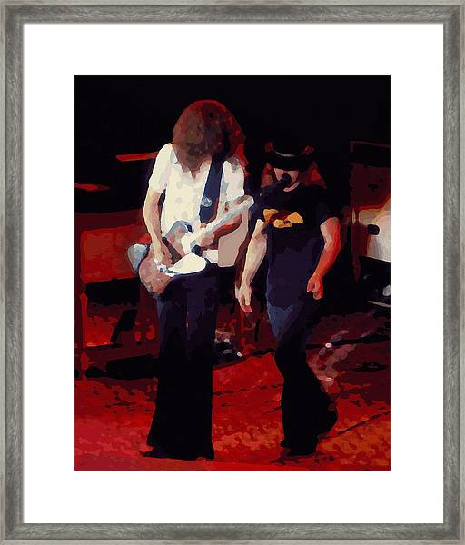 Allen And Ronnie Winterland 1 Framed Print
