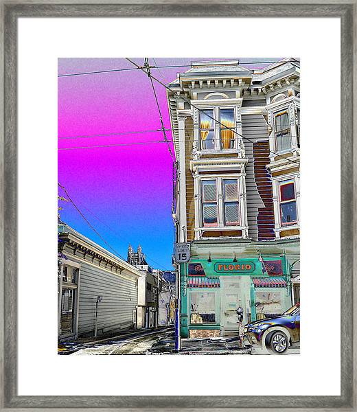 Alley Apartment  Framed Print