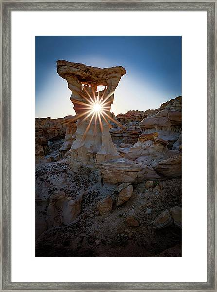 Allien's Throne Framed Print
