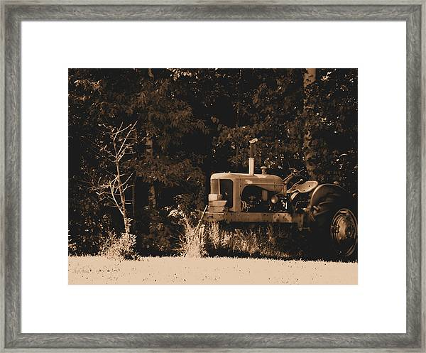 Allis Chalmers Framed Print